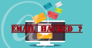 Email hack and email tracing